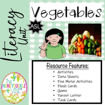 Early Language Learning Unit  Vegetables