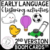 Early Language & Listening Activities BOOM CARDS™ Telether
