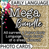 Language Therapy Activities: Early Language Flashcards: Sp