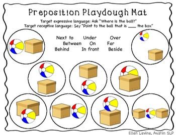 Early Language Playdough Mats