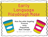 Early Language Playdough Mats