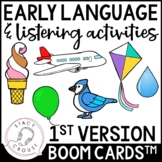 Early Language and Listening Activities BOOM CARDS™ Early