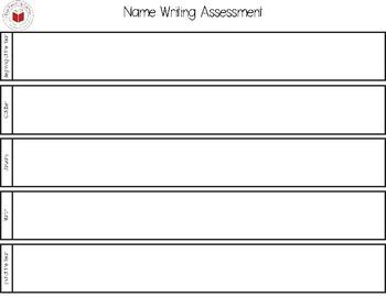 Early Learner Assessment FREEBIE