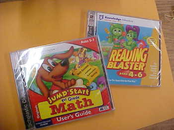 Early Learner Computer CDs, 2 pack (NEW)