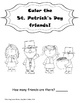 Early Learner St. Patrick's Day math/tracing worksheets