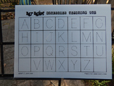 Early Learner Traceable Alphabet