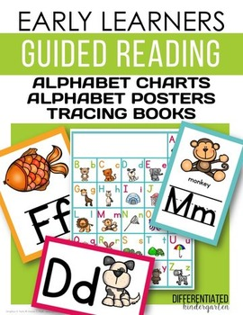 Early Learners Guided Reading-Alphabet Posters, Charts and Tracing books.