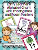 Early Learners' Letter Poster,Editable Name Cards, ABC Boo