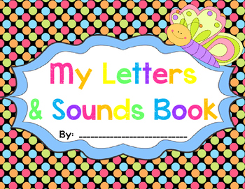 Early Learners Letters & Sounds Student Books