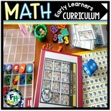 Early Learners Math Curriculum BUNDLE