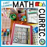Early Learners Math Curriculum BUNDLE