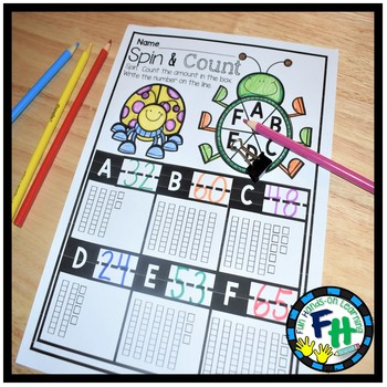 Early Learners Math Curriculum {UNIT 4} Numbers to 100