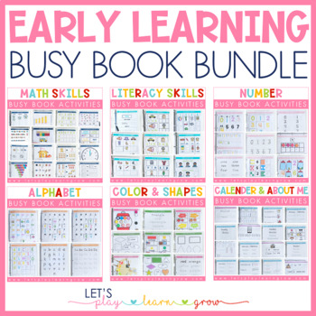 Early Learning Activity Binder