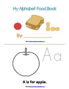Early Learning Alphabet Food Pack