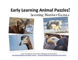 Early Learning Animal Puzzles! Learning Number Games