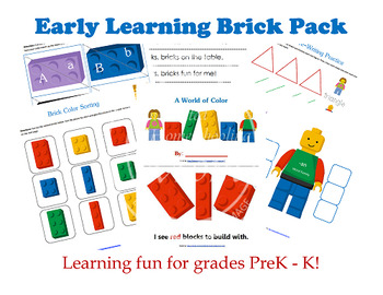 Early Learning Brick Pack