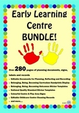 Early Learning Childhood Centre Mega BUNDLE! - EYLF Documents, Signage & Labels