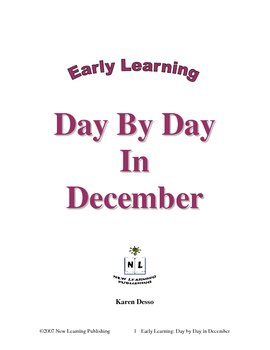 Early Learning: Day by Day in December