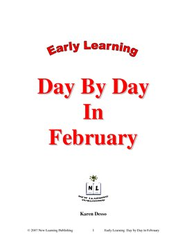 Early Learning: Day by Day in February
