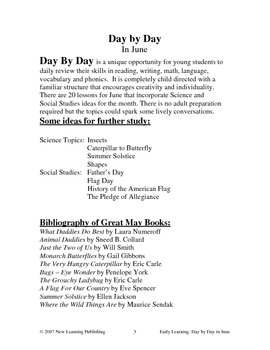 Early Learning: Day by Day in June