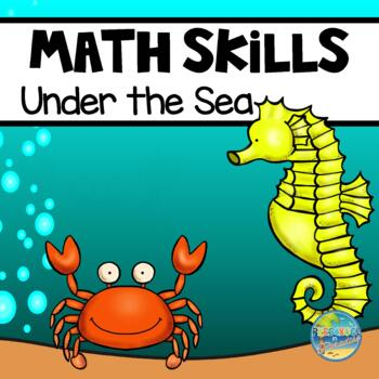Preschool Early Learning Math Skills--Ocean Life