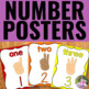 Classroom Decor Bundle - Color, Letter, Number and Shape Posters