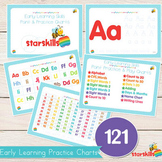 Early Learning Practice & Play Charts (121 Charts)