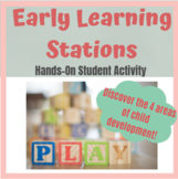 Early Learning Stations FUN Child Development Activity