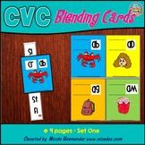 CVC Blending Cards - Early Learning Word Slides - Set 1