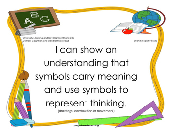 Early Learning and Content Standards-Cognitive and General Knowledge