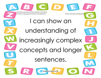 Early Learning and Content Standards-Language and Literacy Development