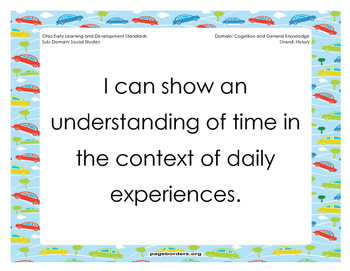 Early Learning and Content Standards-Social Studies