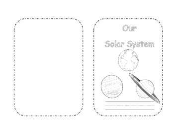 Early Level Our Solar System Mini Book