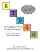 Early Literacy BINGO with beginning Fry Words
