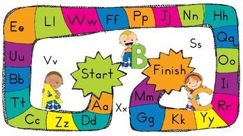 Early Literacy Board Games