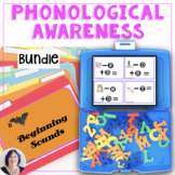 Early Literacy Phonological Awareness Activity Bundle