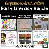 Literacy Intervention Bundle for K-1
