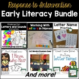 Literacy Intervention Bundle for K-1