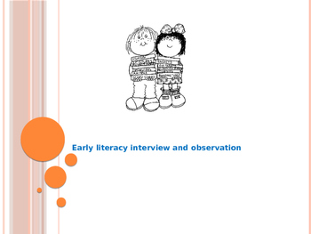 Early Literacy Case Study Powerpoint