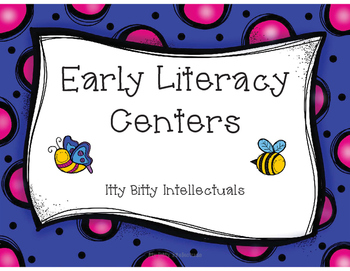 Early Literacy Centers (10 centers)