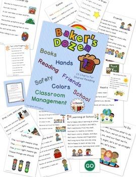Baker's Dozen Charts {No Prep}