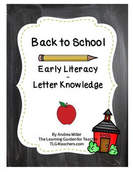 Early Literacy~Letter Knowledge