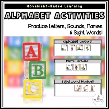 Early Literacy Movement Activities