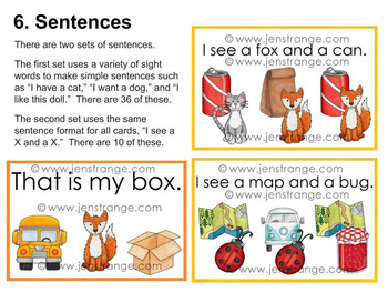 Early Literacy Tools: CVC Words - 7 Activities designed for Photo Printing