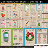 Early Literacy Tools: Confusing Consonants Spelling Tips P