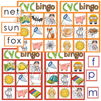 Early Literacy Tools: Elkonin boxes and Medial Vowel Set EXTENDED SET