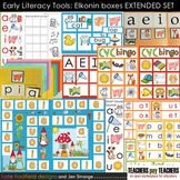 Early Literacy Tools: Elkonin boxes and Medial Vowel Set E