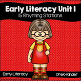 Early Literacy Unit 1: Rhyming {15 Rhyming Activities for
