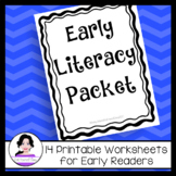 Early Literacy and Reading Intervention Practice Packet