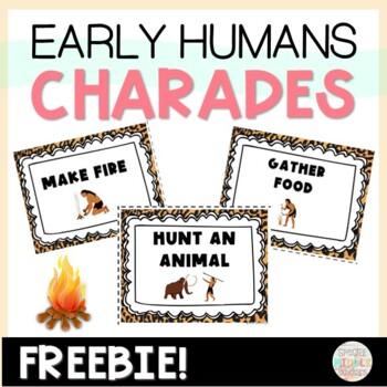 Early Man Charades